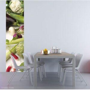 Sticker autocollant géant Légumes divers