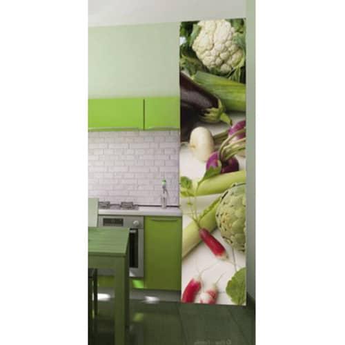 Sticker adhésif géant Légumes divers