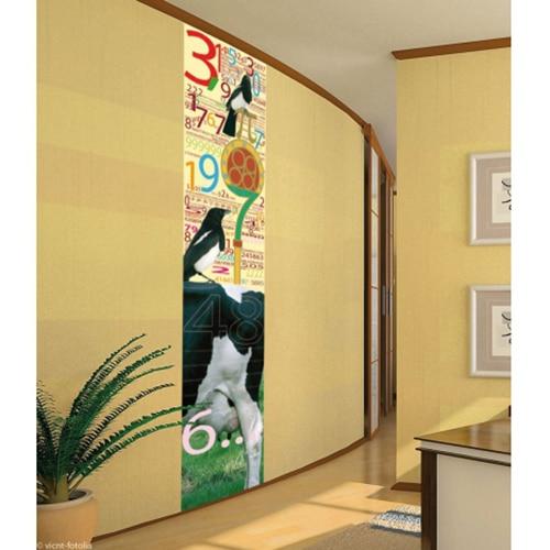 Sticker PI : 3,14116 adhésif collé au mur