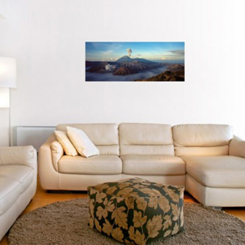 Sticker adhésif Volcan de Bromo