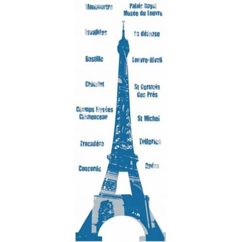 Autocollants Tour Eiffel prêt à coller