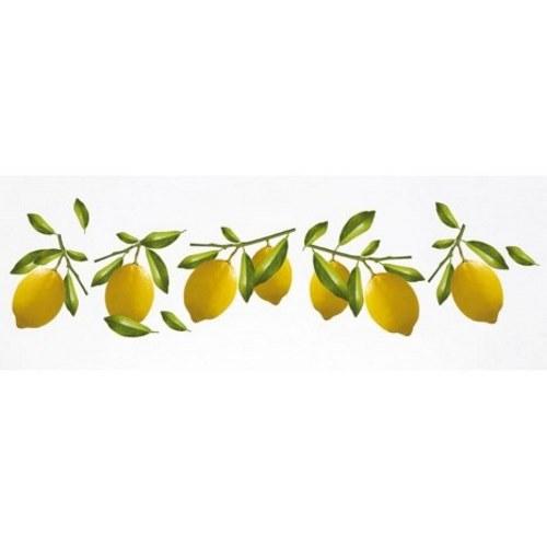 Sticker adhésif citron pour la cuisine