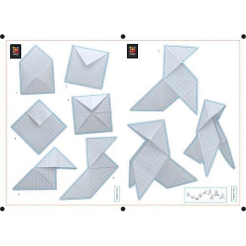 Autocollant muraux Origami