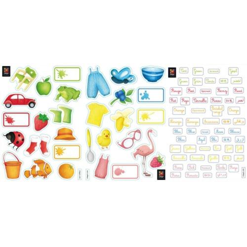 Stickers autocollants Anglais/Français