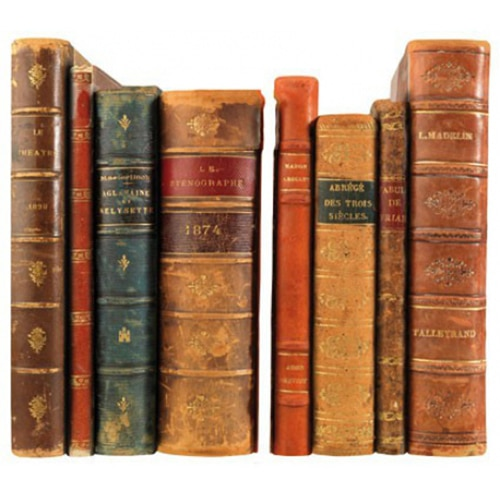 Adhésif Mes livres anciens décoration maison