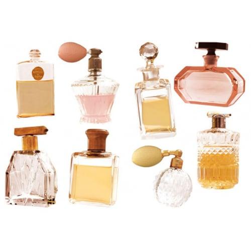 Stickers muraux Flacons de parfums