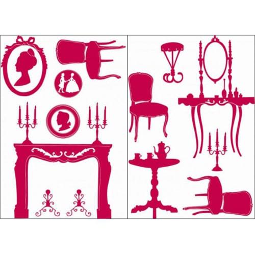 Stickers autocollants Princesse Versaillaise