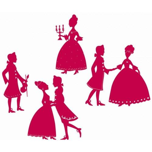 Pack stickers déco princesses pour chambre d'enfant