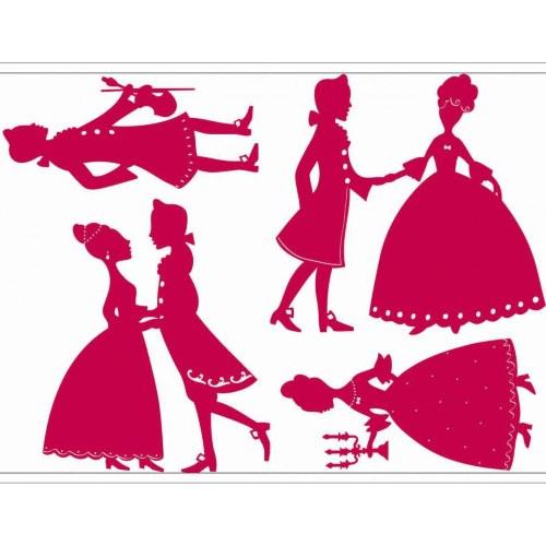 Stickers princesses - kit déco chambre de fille