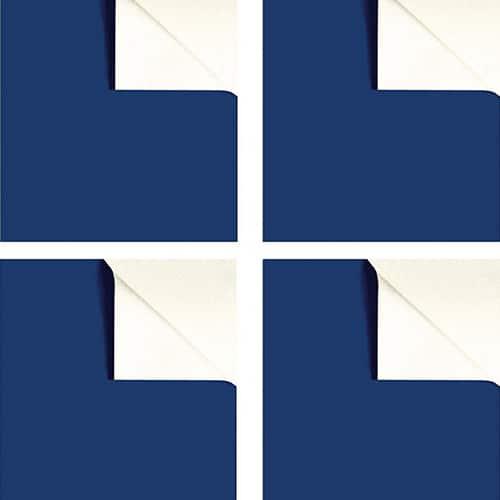 Sticker adhésifs 4 ardoises bleues !