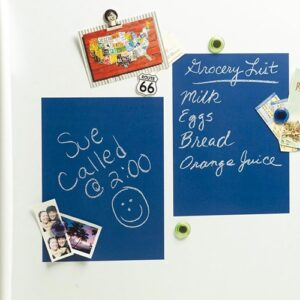 Sticker muraux 4 ardoises bleues