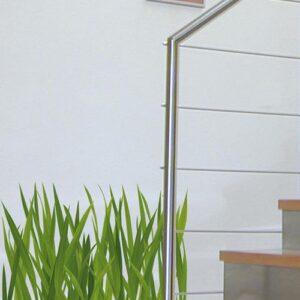 Sticker herbes hautes vertes pour déco escalier
