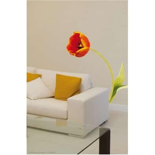 Sticker autocollant Tulipe Courbée