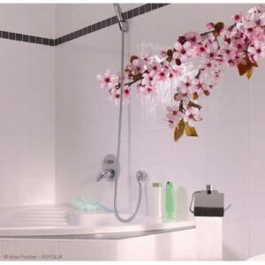 Sticker adhésif Branches de Cerisier Japonais roses