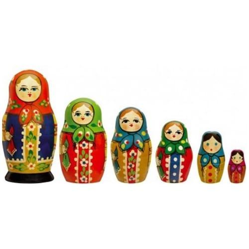 Stickers poupées russes pour déco maison