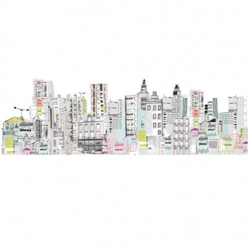 sticker dessin de ville