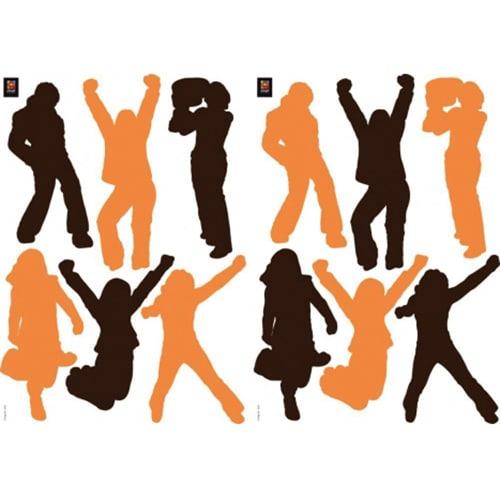 Stickers autocollants Pas de danse