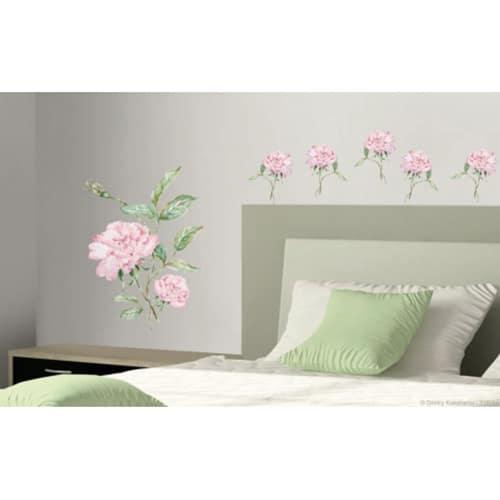 Sticker d'une fleur oeillets Roses