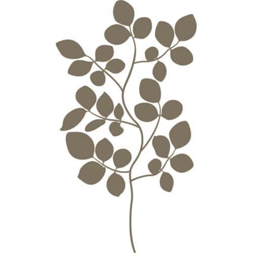 Sticker mural Branches de Buisson Bronze !