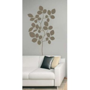 Sticker autocollant Branches de Buisson Bronze