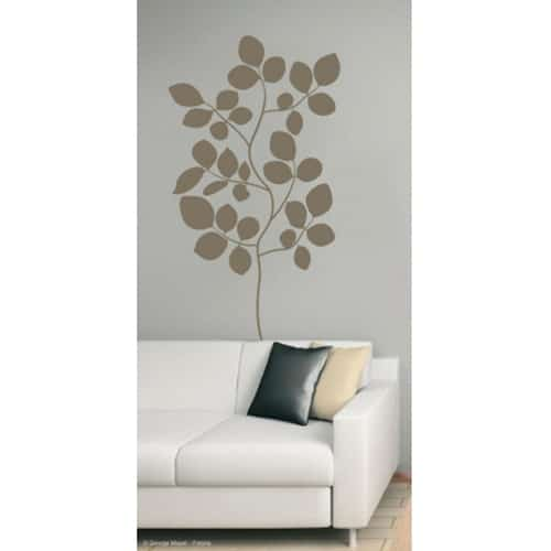 Sticker autocollant Branches de Buisson Bronze