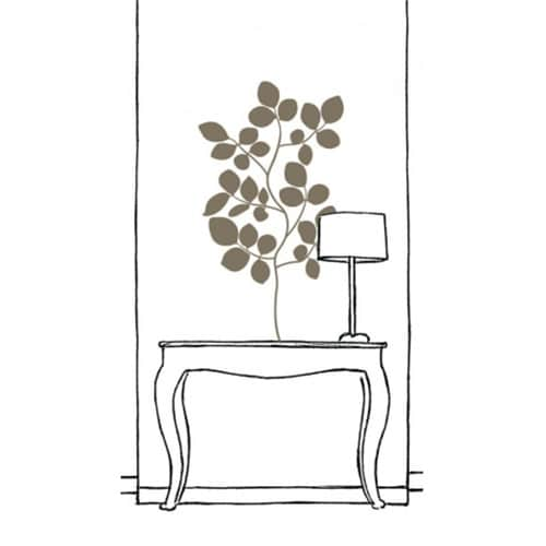 Sticker adhésif Branches de Buisson Bronze