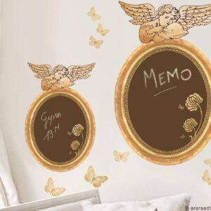 Sticker baroque et tendance avec Anges