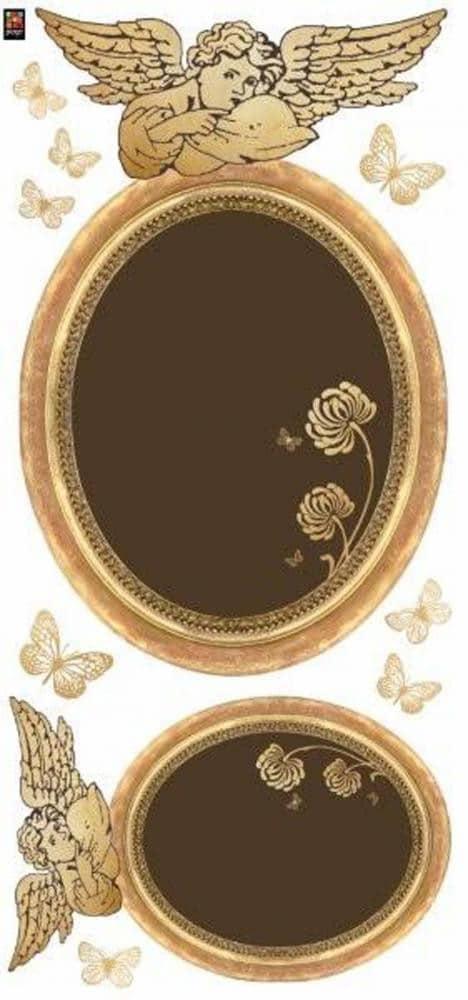 Déco adhésive baroque et tendance avec notre sticker Cadres Anges