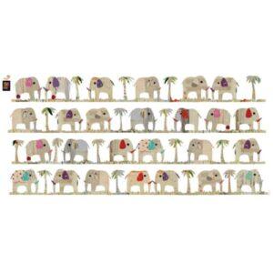 Stickers frise murale Fanfan l'élephant
