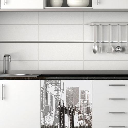 Stickers adhésifs lave-vaisselle New York