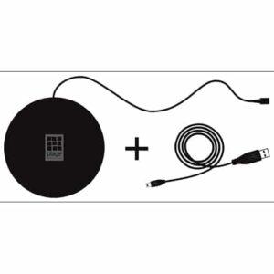Boitier d'alimentation USB stickers lumineux