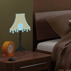 Sticker autocollant lumineux lampe de chevet