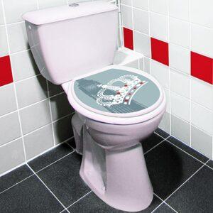 sticker effet londres pour abattant de WC