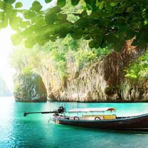 Sticker mural Paysage de Thaïlande !