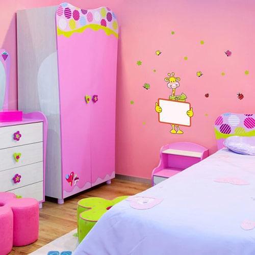 stickers autocollants animaux ardoise feutres pour chambre d 39 enfant. Black Bedroom Furniture Sets. Home Design Ideas
