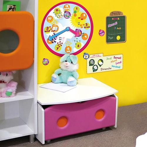 Sticker Calendrier 3-5 ans ludiques avec jouets