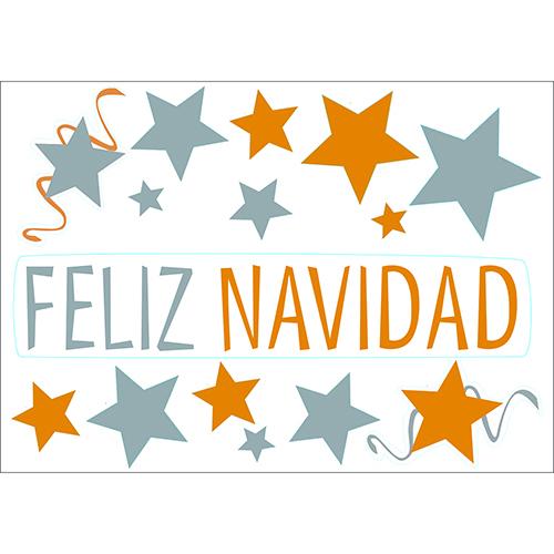 Pack déco de Noël pour vitres et fenêtreFeliz Navidad décor électrostatiques Joyeux Noël Espagnol