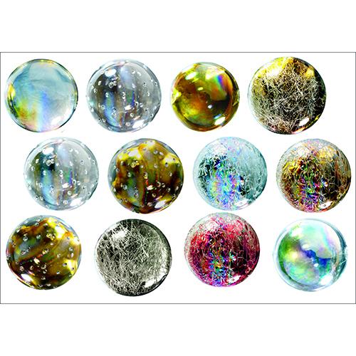 sticker Boules en verre décoration intérieure