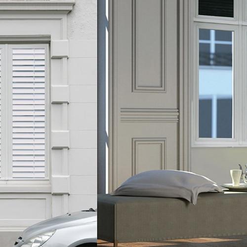 Optez pour l'unique avec notre sticker fausse fenêtre trompe l'oeil Stores One Way vision !