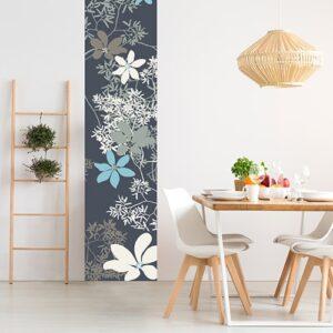 Sticker Fleurs de Chine pour salle à manger