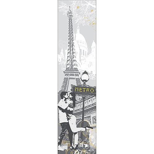 Sticker balade à Paris pour décoration intérieur