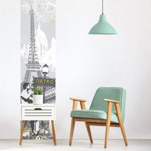 Sticker balade à Paris pour salon