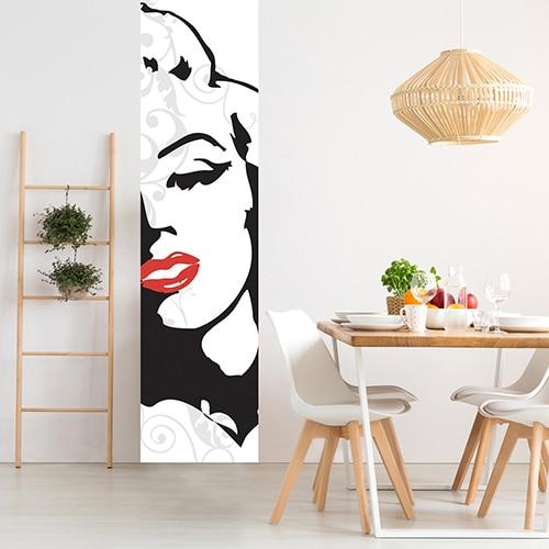 Sticker Marilyn pour salle à manger