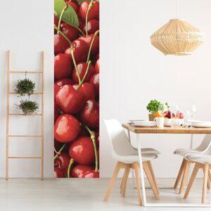 Sticker Cerises pour déco de salle à manger