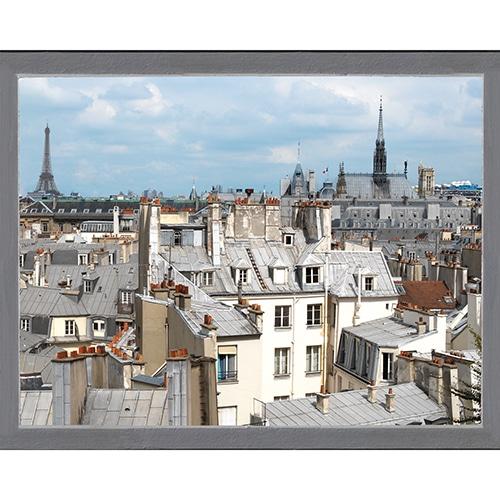 sticker Toits de Paris avec Tour Eiffel
