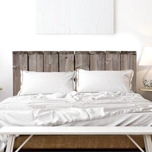 Sticker Bocage pour tête de lit mis en ambiance dans une chambre à coucher