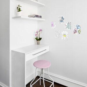Stickers autocollant Asie Zen dans un bureau