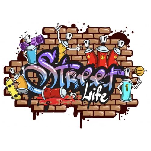 Faites de votre intérieur un espace moderne avec nos stickers Graffitis/Street Art