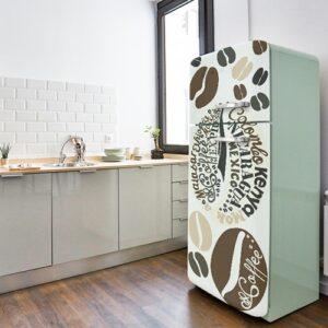 Stickers Arabica autocollants pour frigo vintage