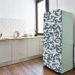 Stickers déco pour frigo vintage thème Baroque